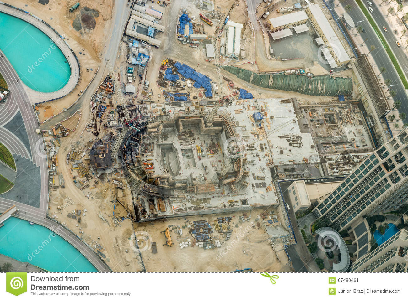 Aerial view of dubai united arab emirates editorial photo image download aerial view of dubai united arab emirates editorial photo image of building gumiabroncs Image collections