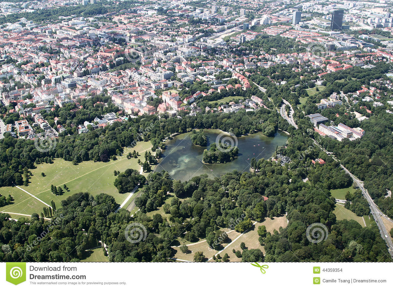 munich english garden map pdf