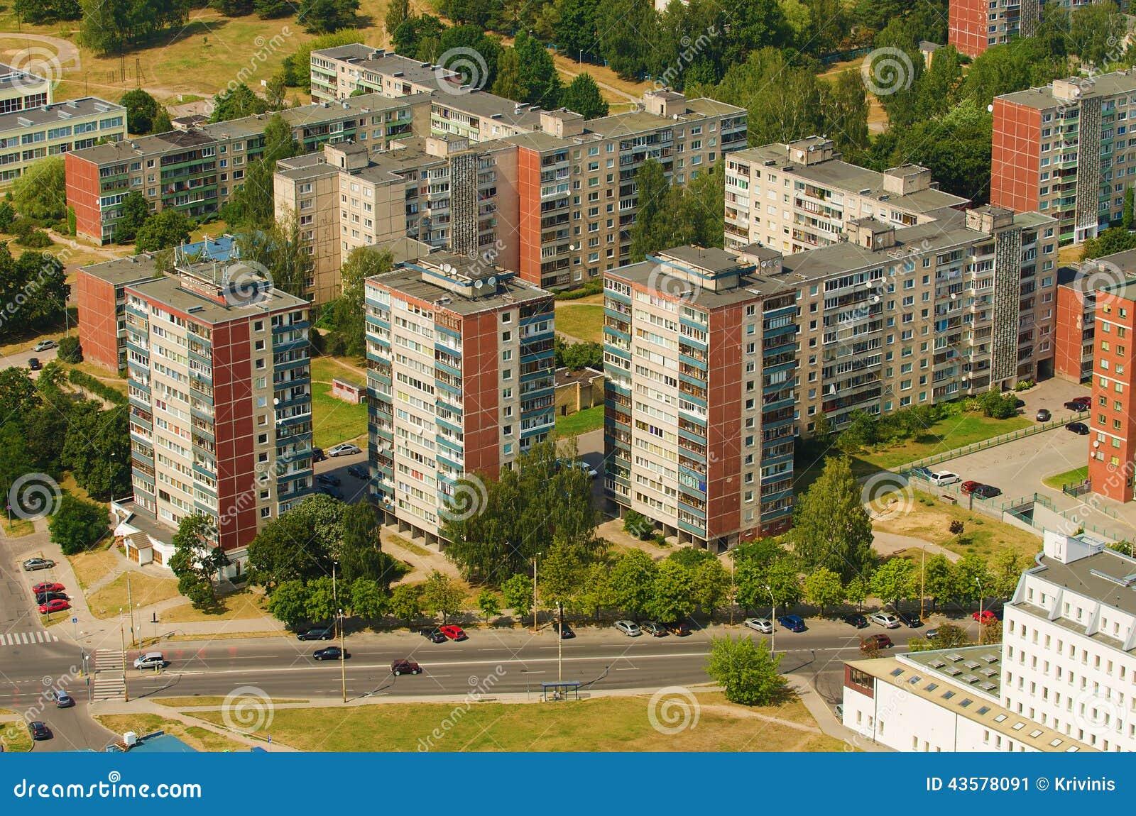 aerial-view-prefab-houses-karoliniskes-v