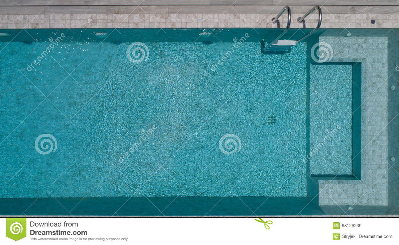 aerial outdoor pool - Rectangle Pool Aerial View