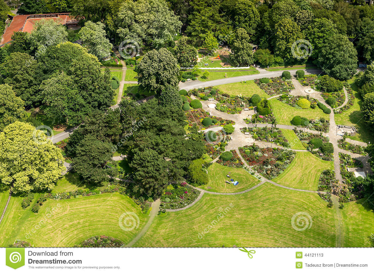 Aerial view stock image. Image of outside, large, germany ...