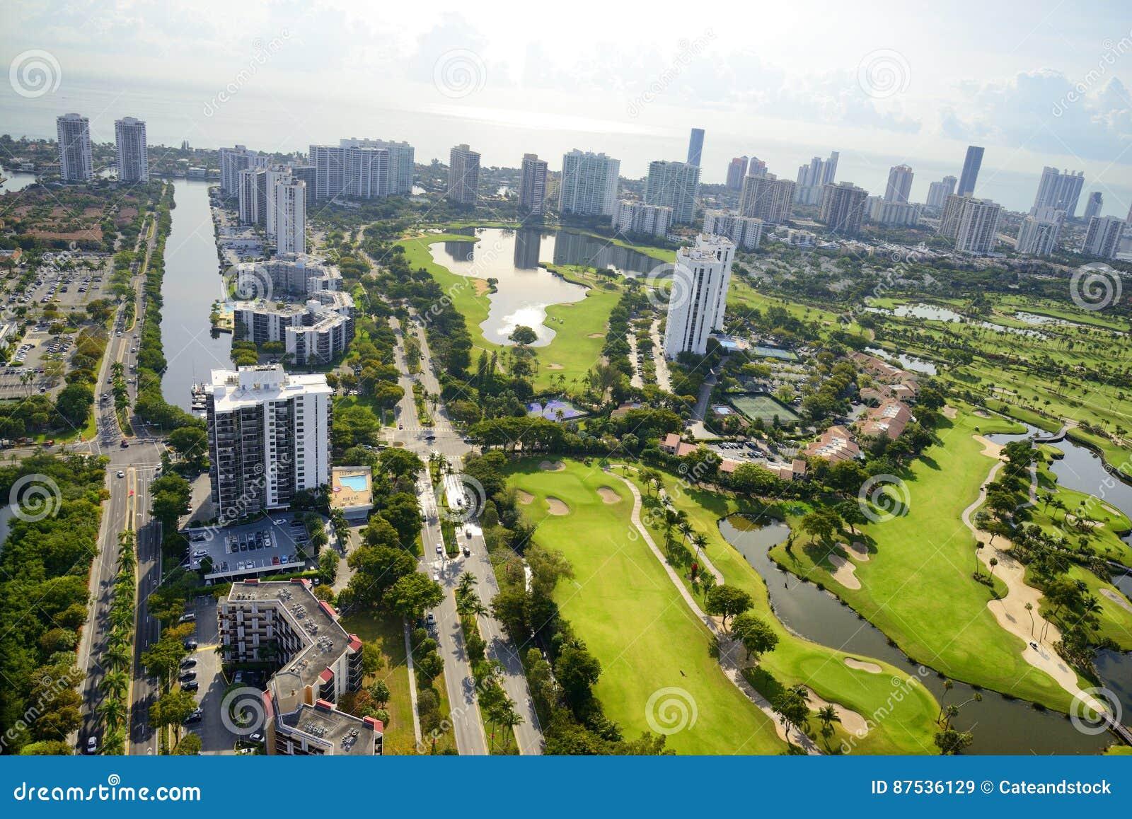 Aerilamening in Miami