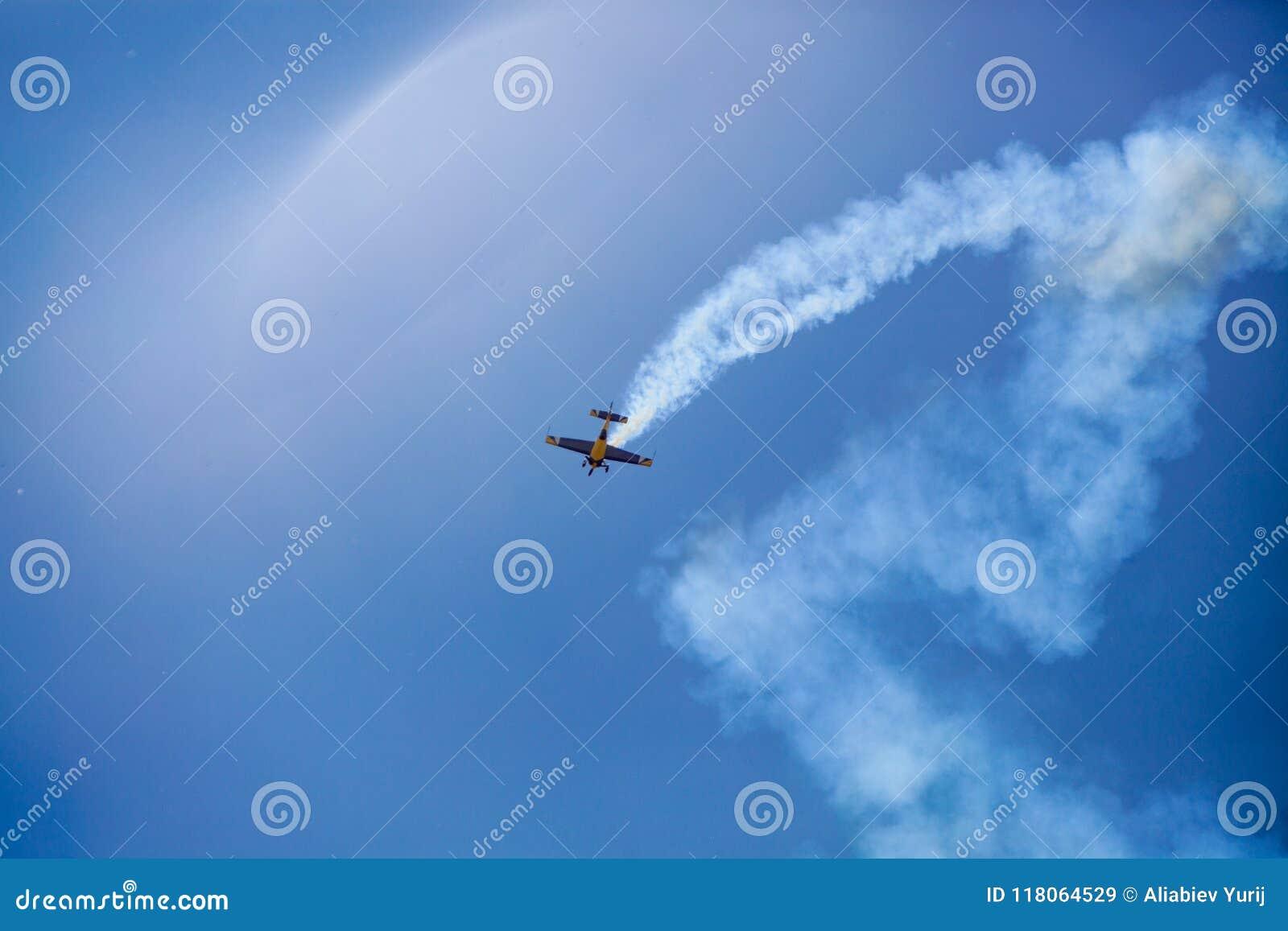 Aerobatics tricks show