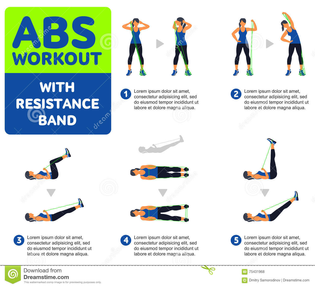 Abs Workout Stock Illustration Of Icon