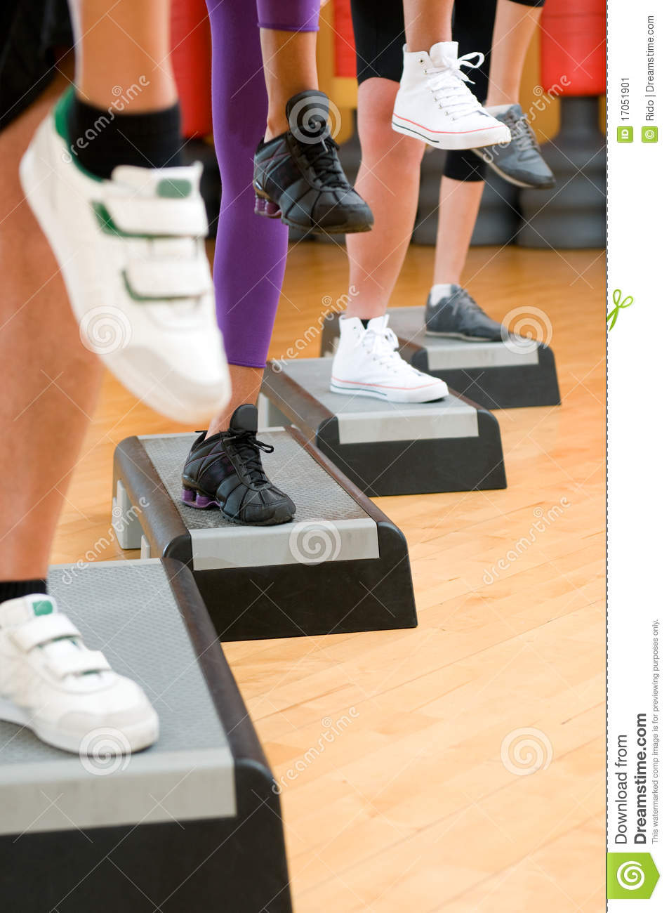 Step exercise tapes uk