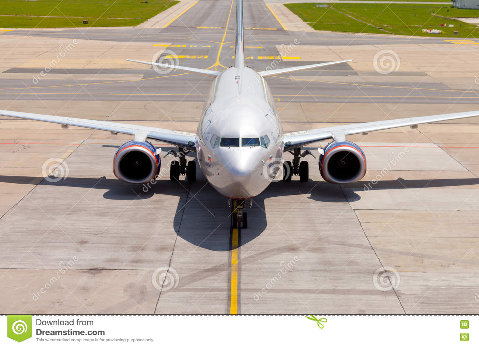 Aeroflot - Rosyjskie linie lotnicze Boeing 737-8LJ