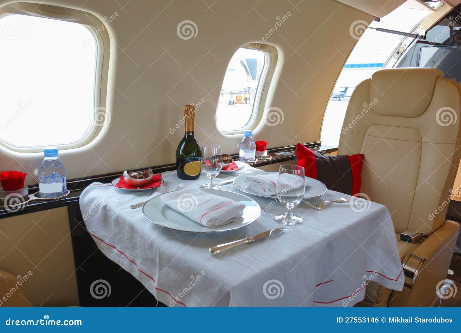 Aeronautica interna di lusso di affari dei velivoli
