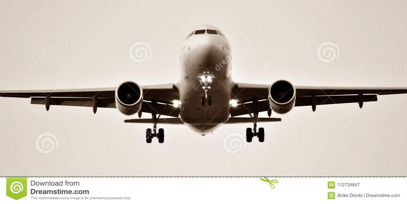 Aeroplano all aeroporto