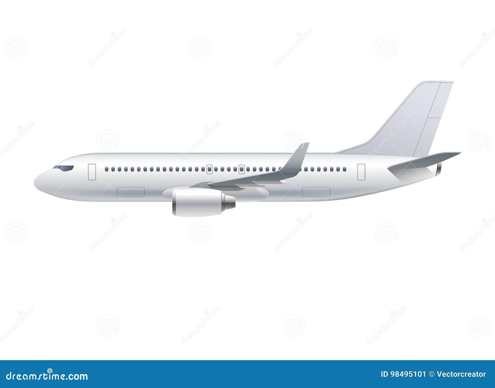 Aeroplano Del Vuelo, Avión De Jet, Avión De Pasajeros Ilustración ...