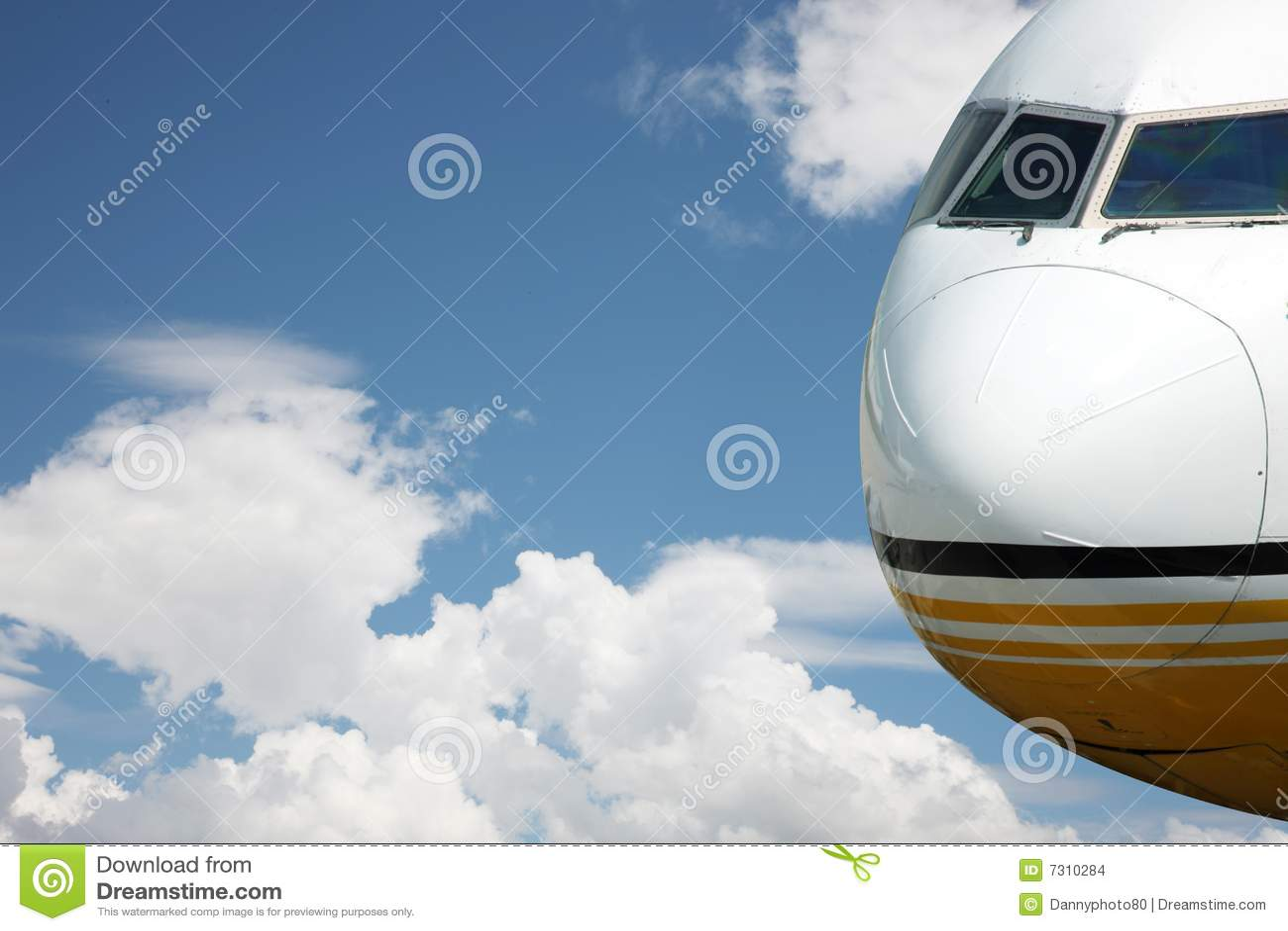 Aeroplano nell aria