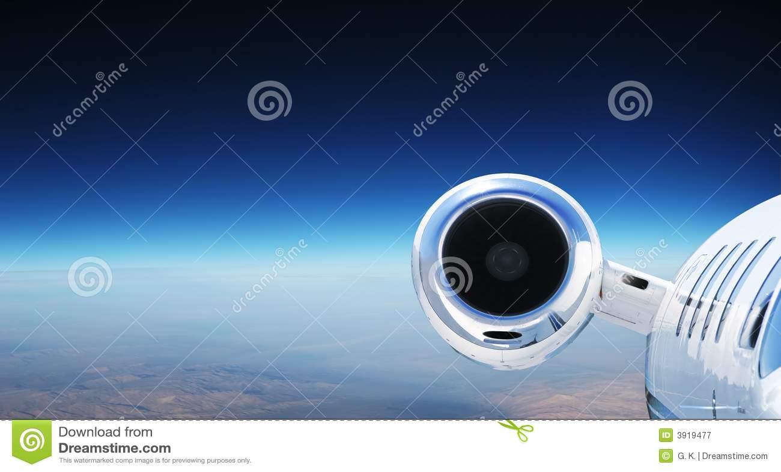Aeroplano privato di lusso del jet
