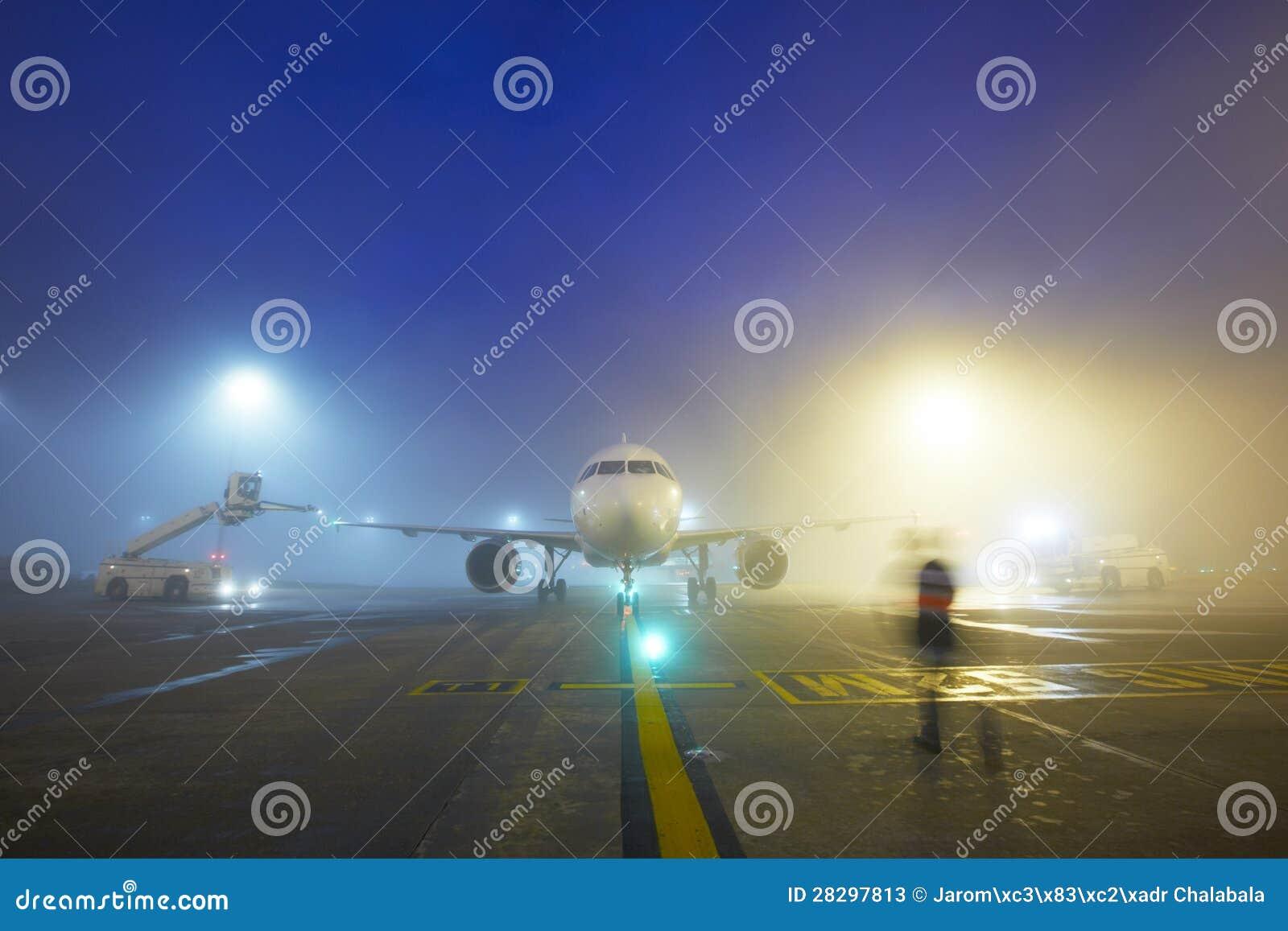 Aeroporto alla notte