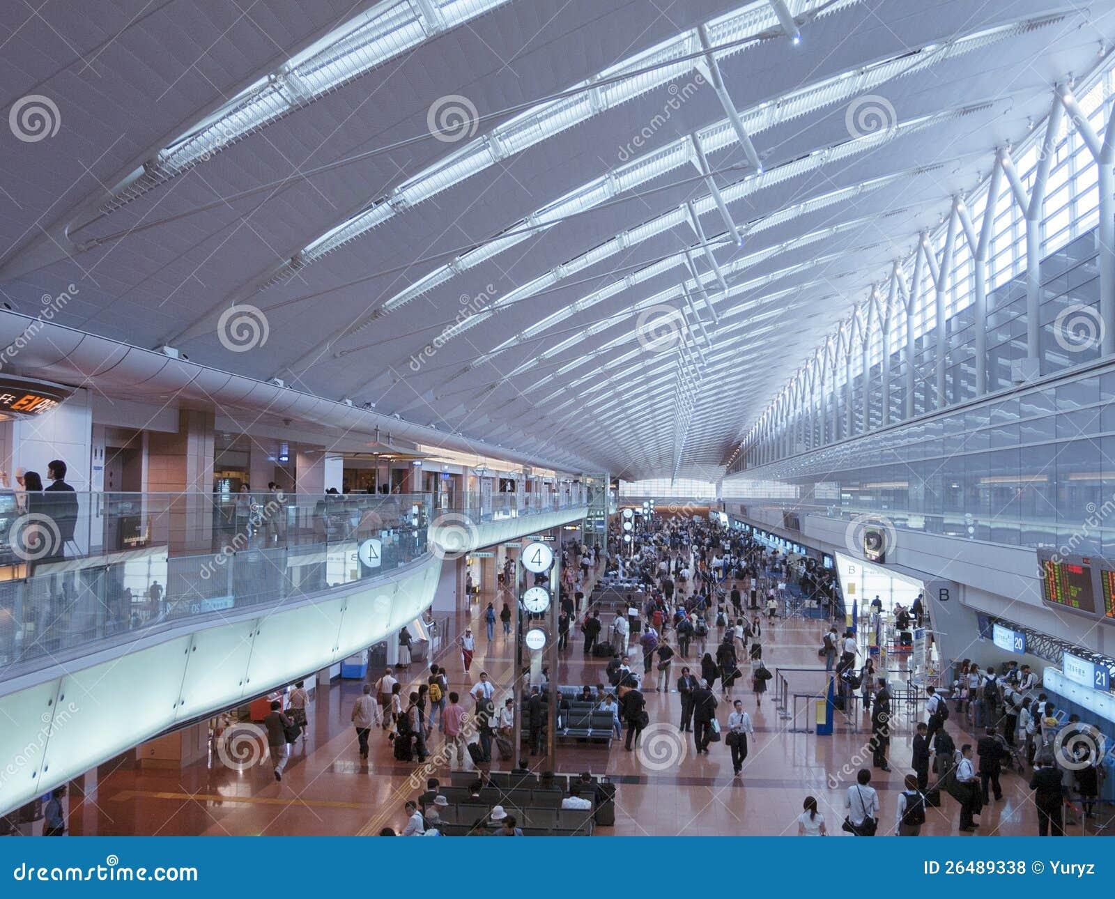 Aeroporto Tokyo : Aeroporto de haneda tokyo foto de stock editorial imagem de