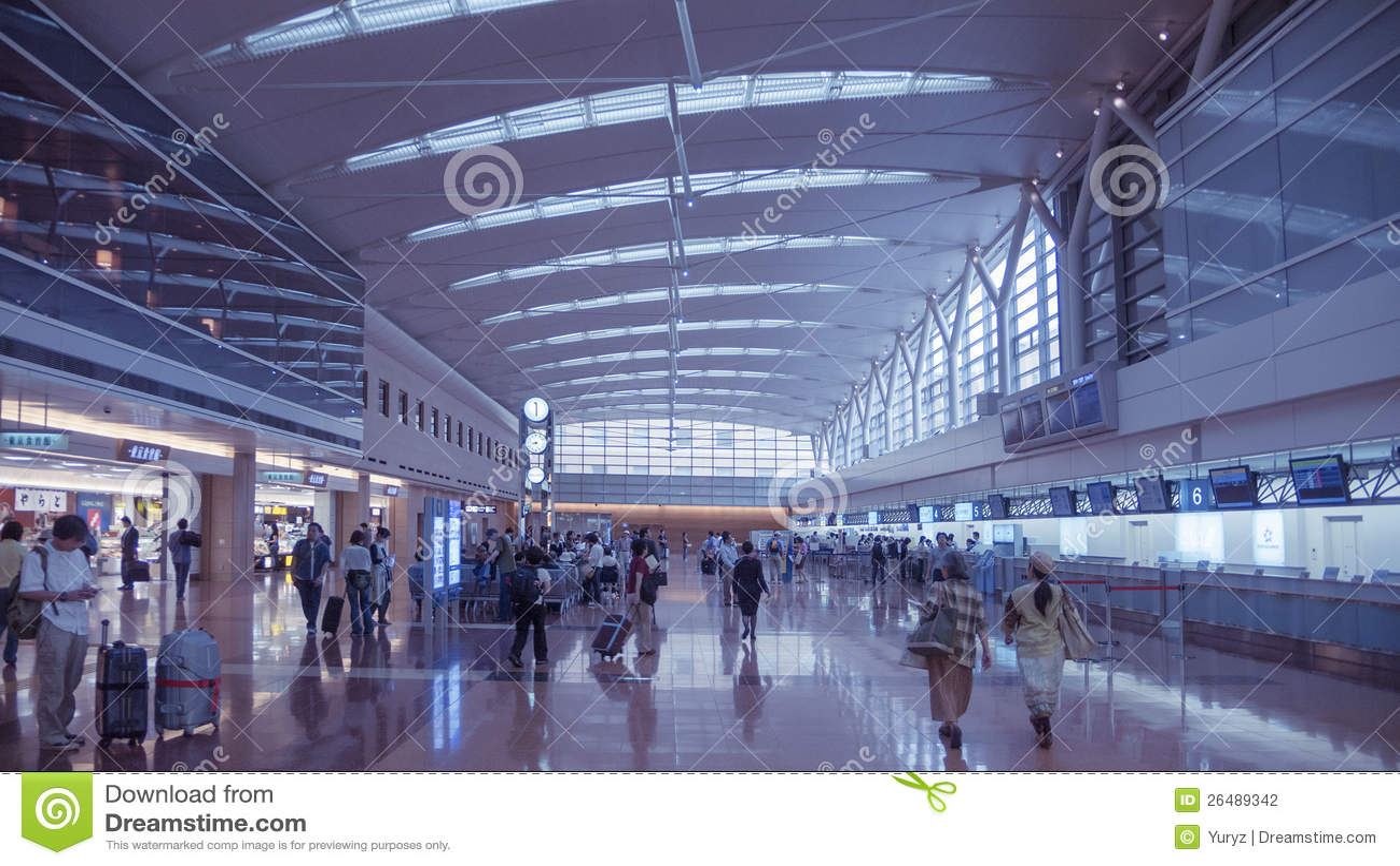 Aeroporto Tokyo : Aeroporto del haneda tokyo fotografia editoriale immagine di
