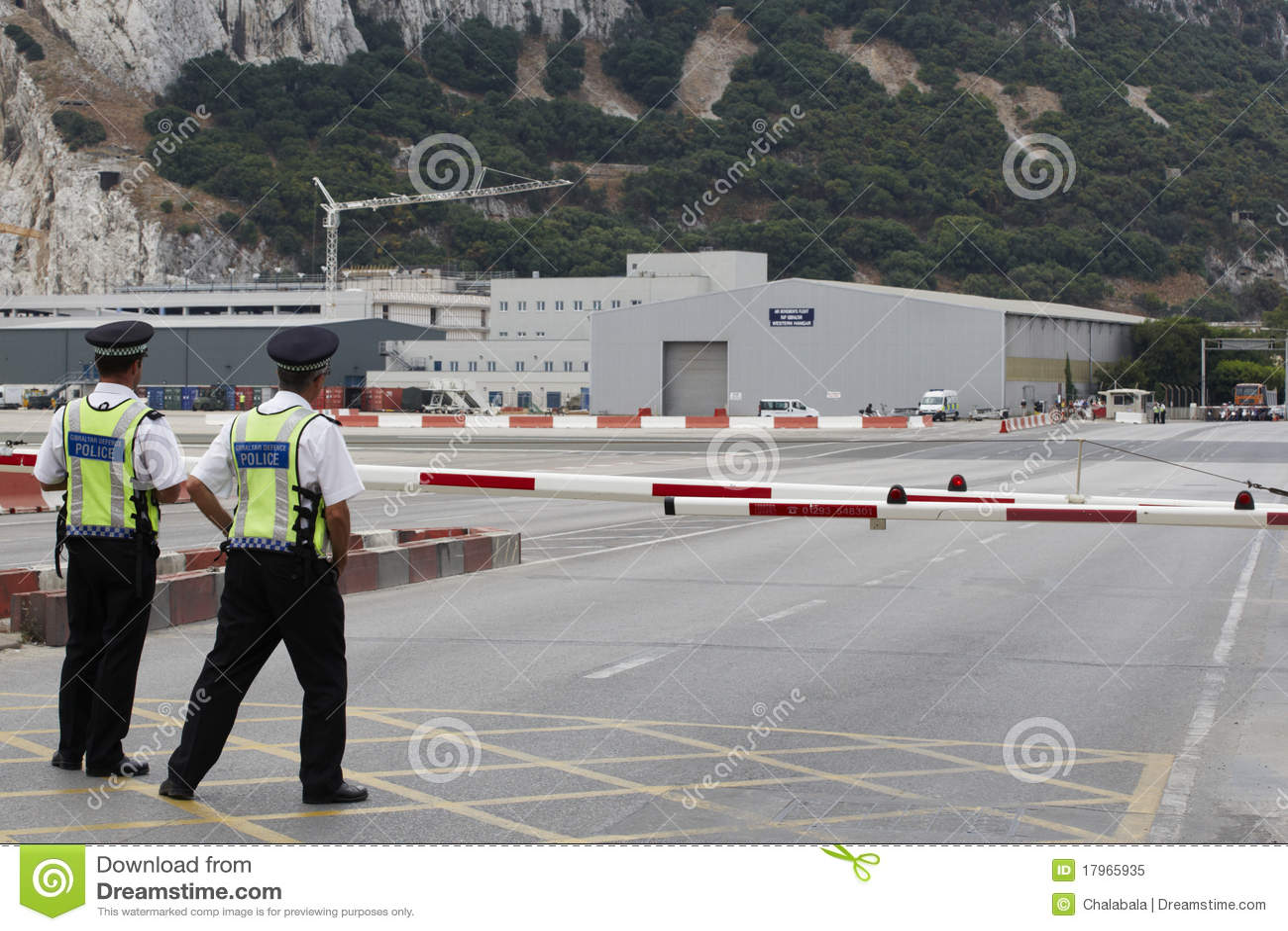 Aeroporto Gibilterra : Aeroporto della gibilterra immagine editoriale