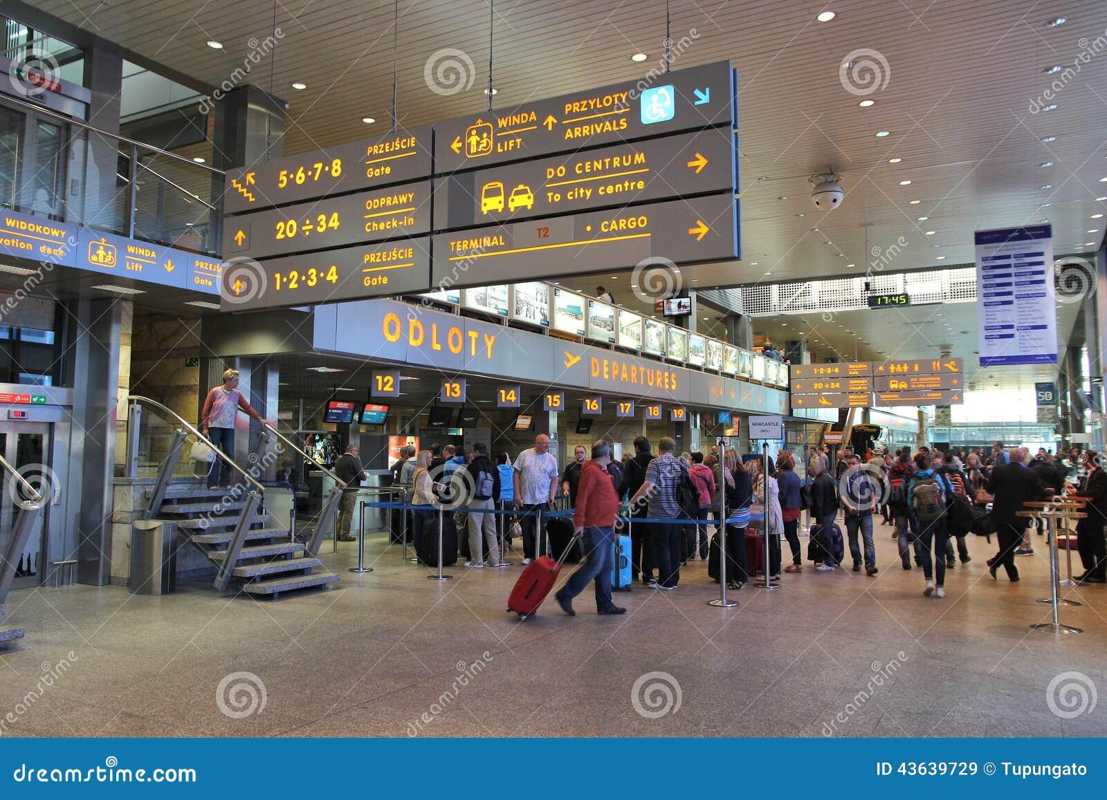 Aeroporto Verona Arrivi : Aeroporto di cracovia immagine stock editoriale
