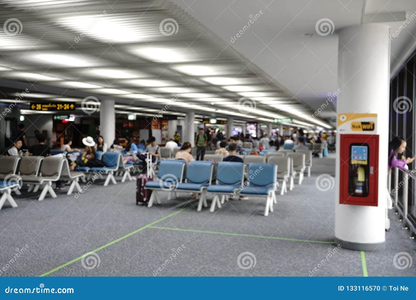 Aeroporto di Don Meung a Bangkok, Tailandia