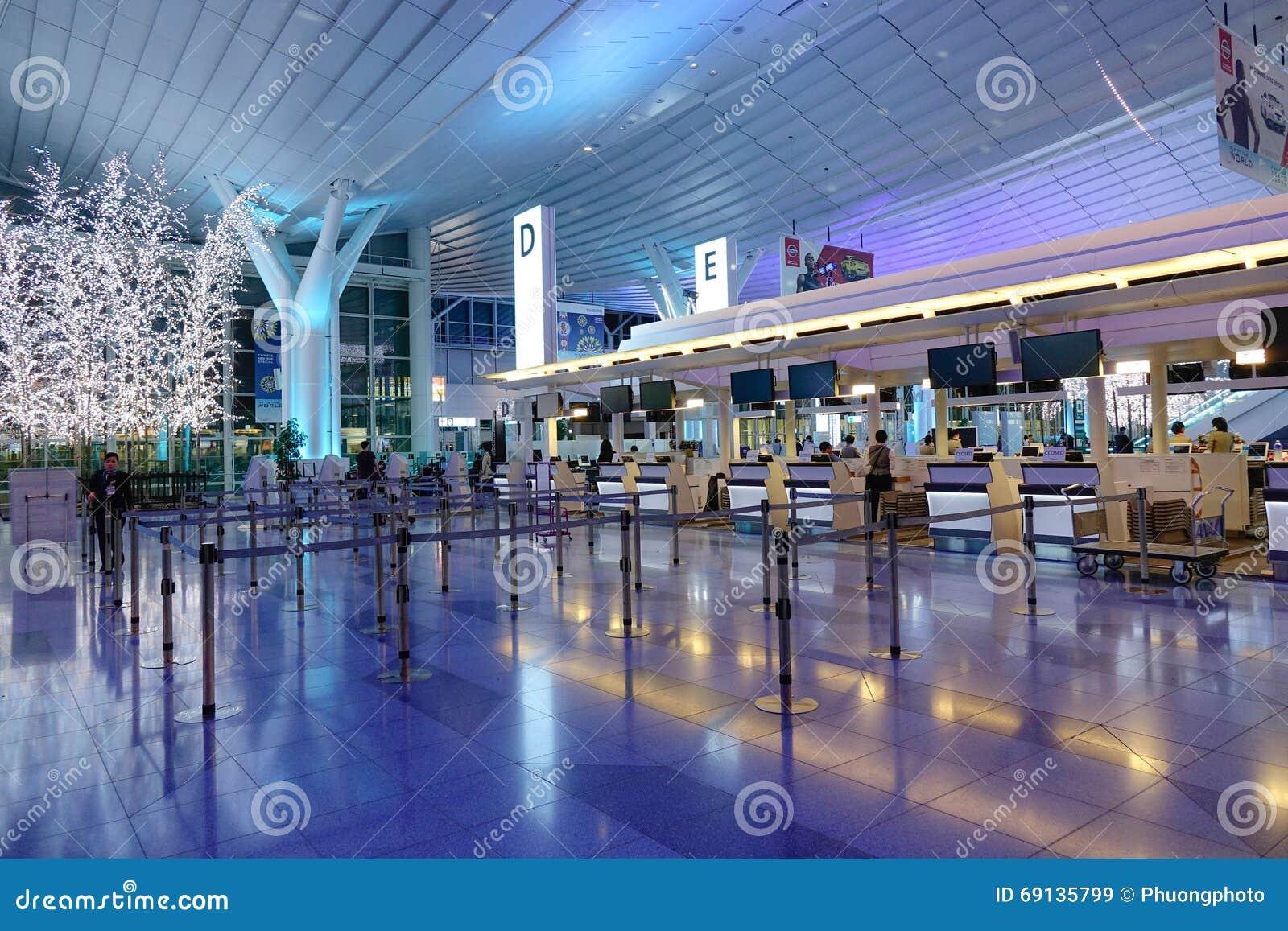 Aeroporto di Haneda, Giappone - aeroporto internazionale di Tokyo
