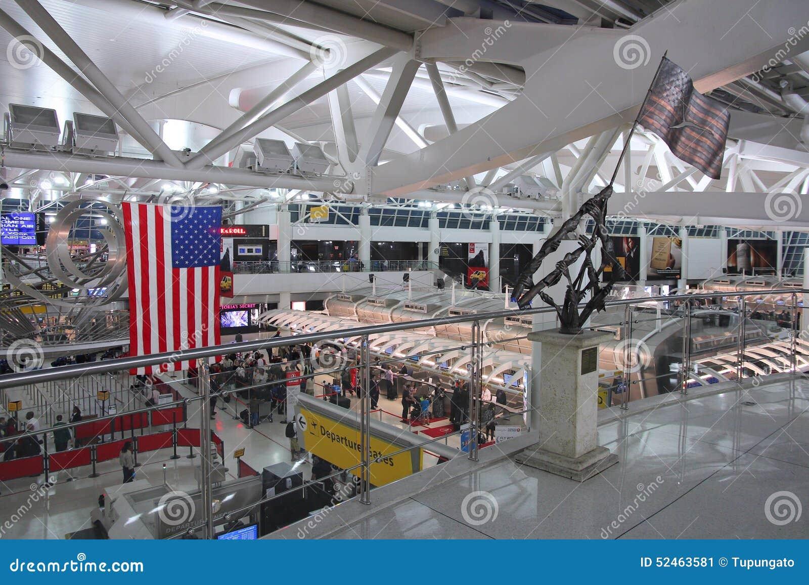Aeroporto New York Jfk : Aeroporto di new york fotografia editoriale immagine