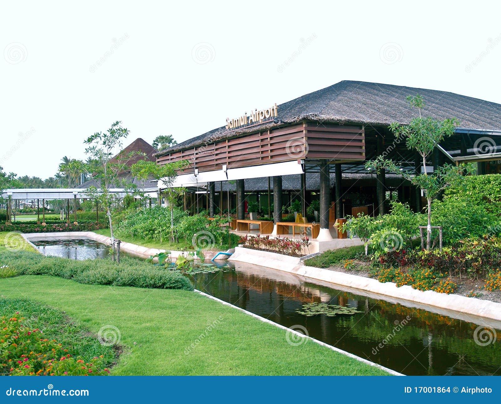 Aeroporto Koh Samui : Aeroporto di samui del koh tailandia immagini stock