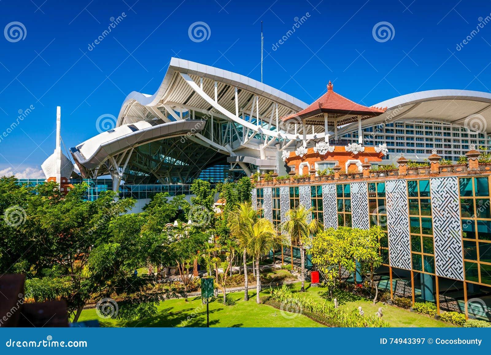 Aeroporto Bali : Aeroporto internacional de bali denpasar na ilha tropical bali