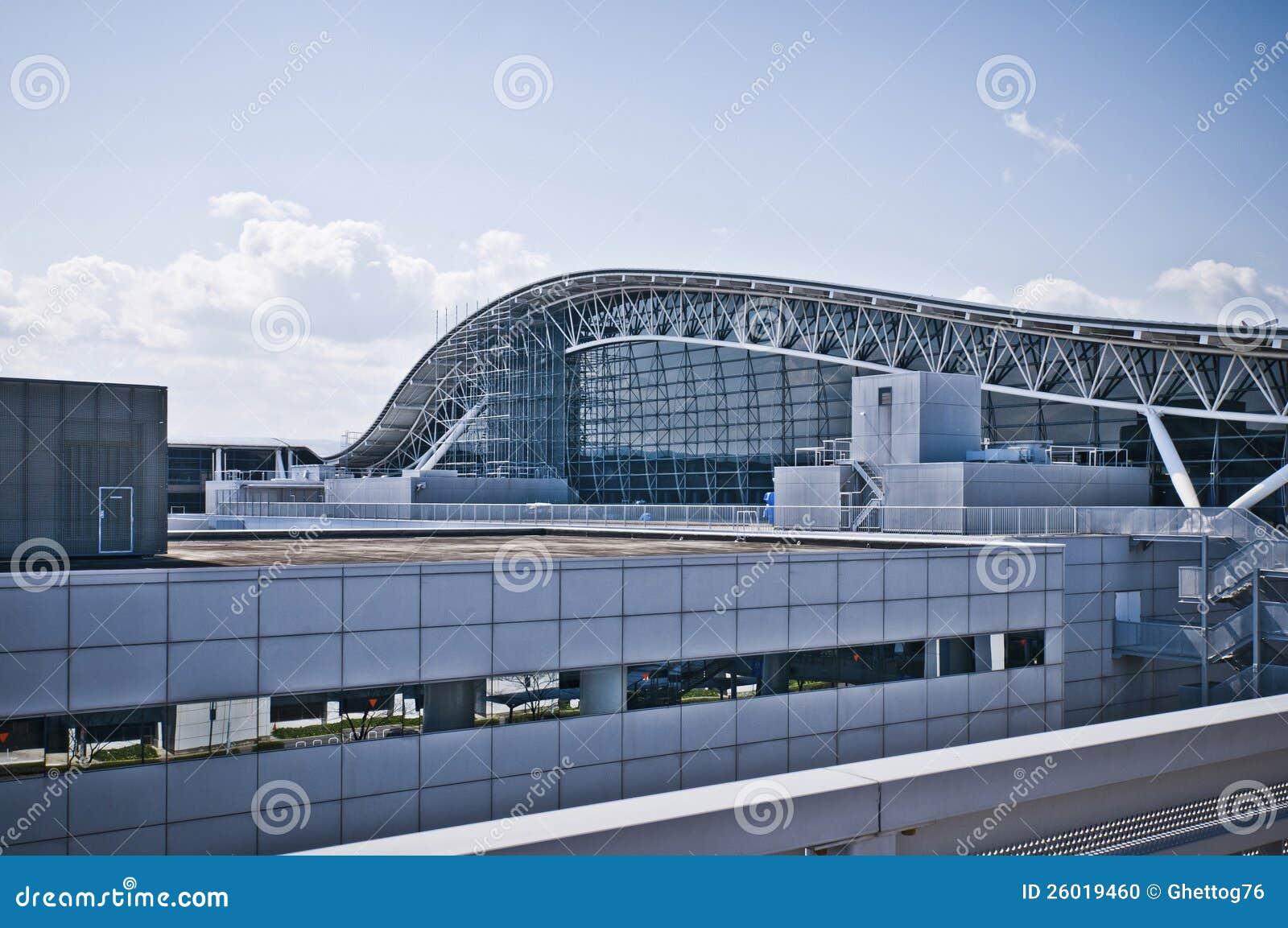 Aeroporto Kansai Osaka : Aeroporto internazionale del kansai fotografia stock