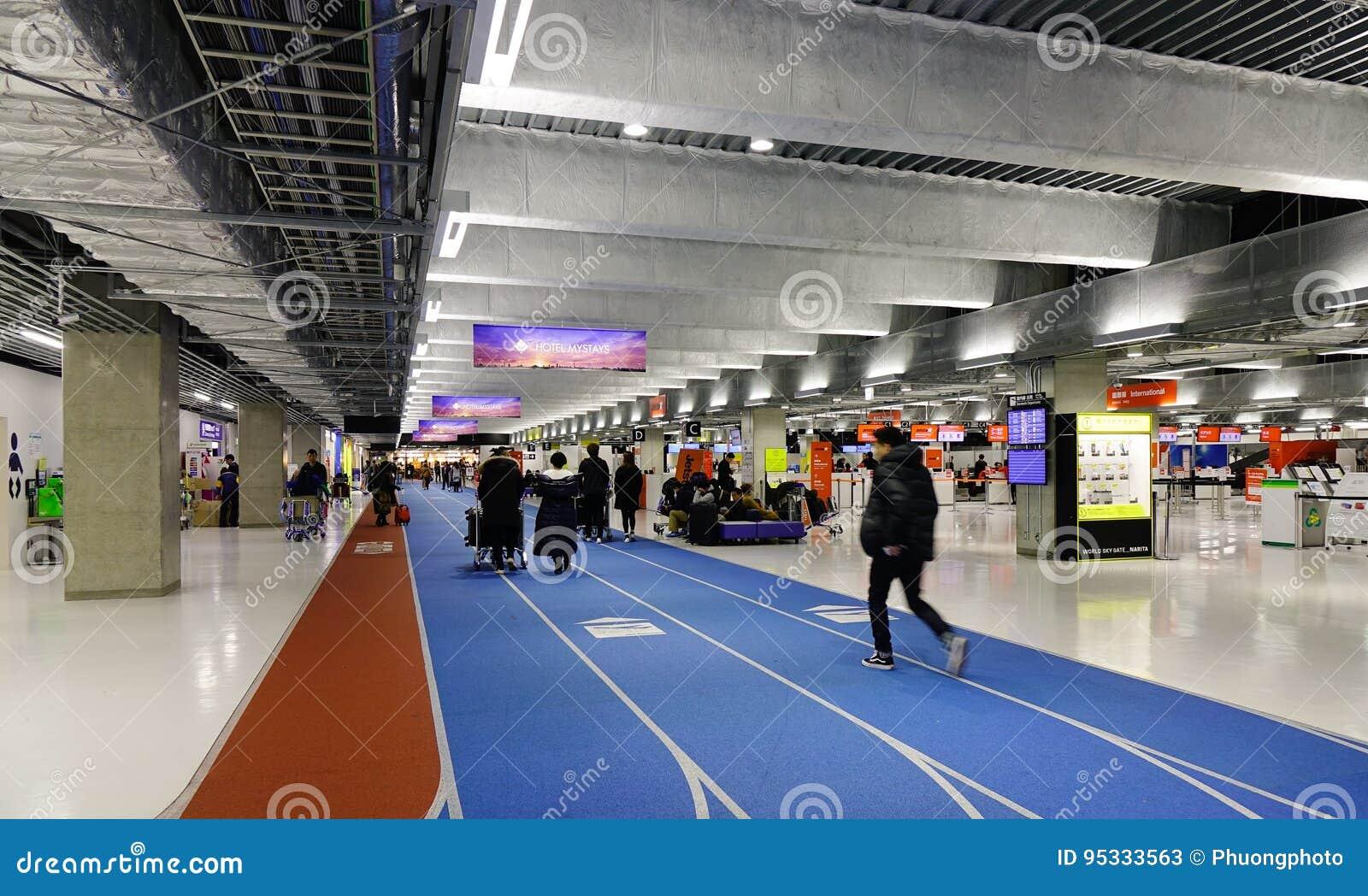 Aeroporto Tokyo : Aeroporto internazionale di narita a tokyo giappone fotografia