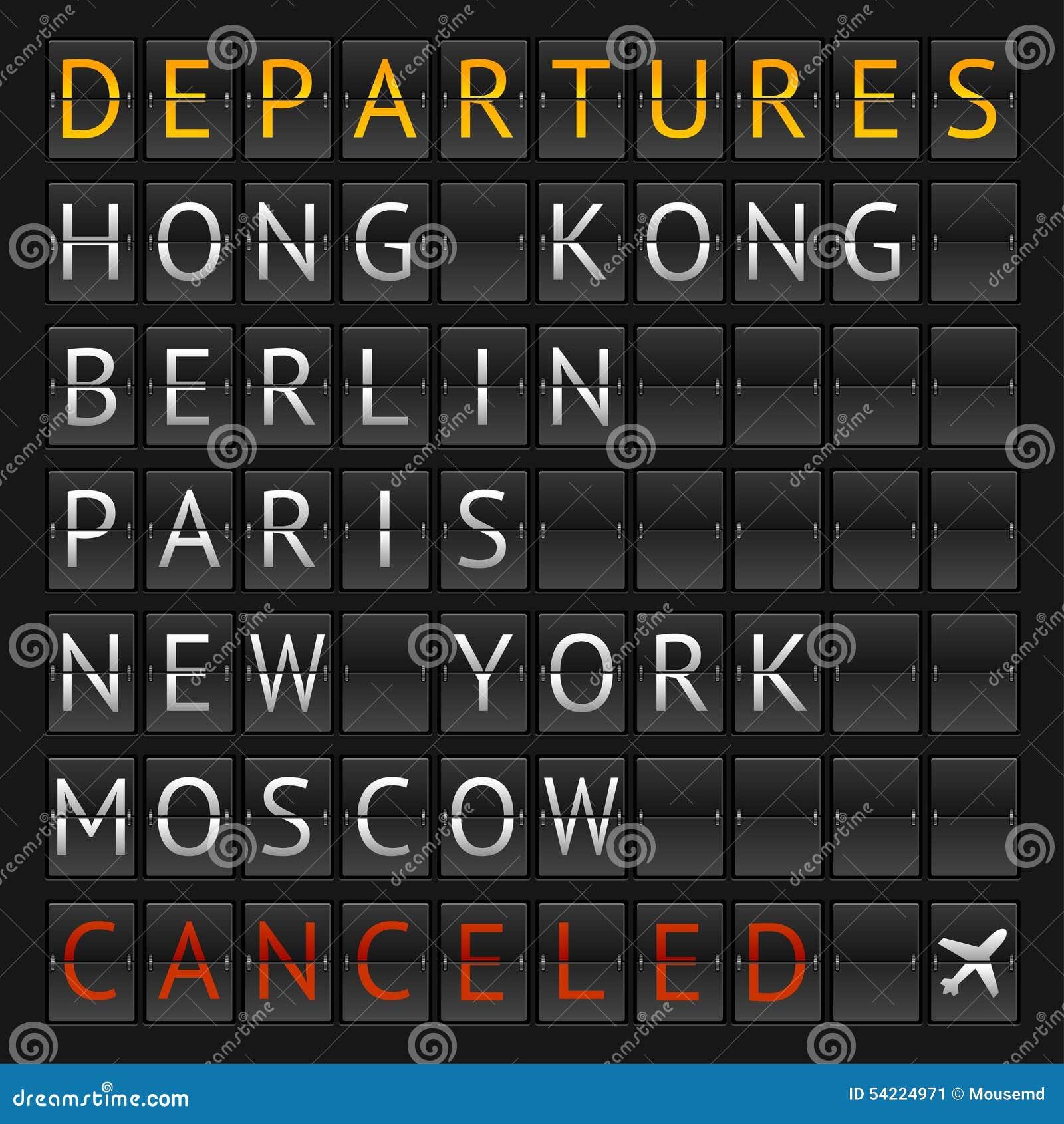 Aeroporto mecânico da cidade do calendário do vetor