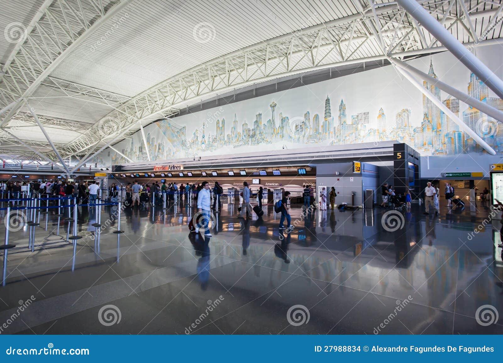 Aeroporto York : Aeroporto new york city de jfk imagem de stock editorial imagem de
