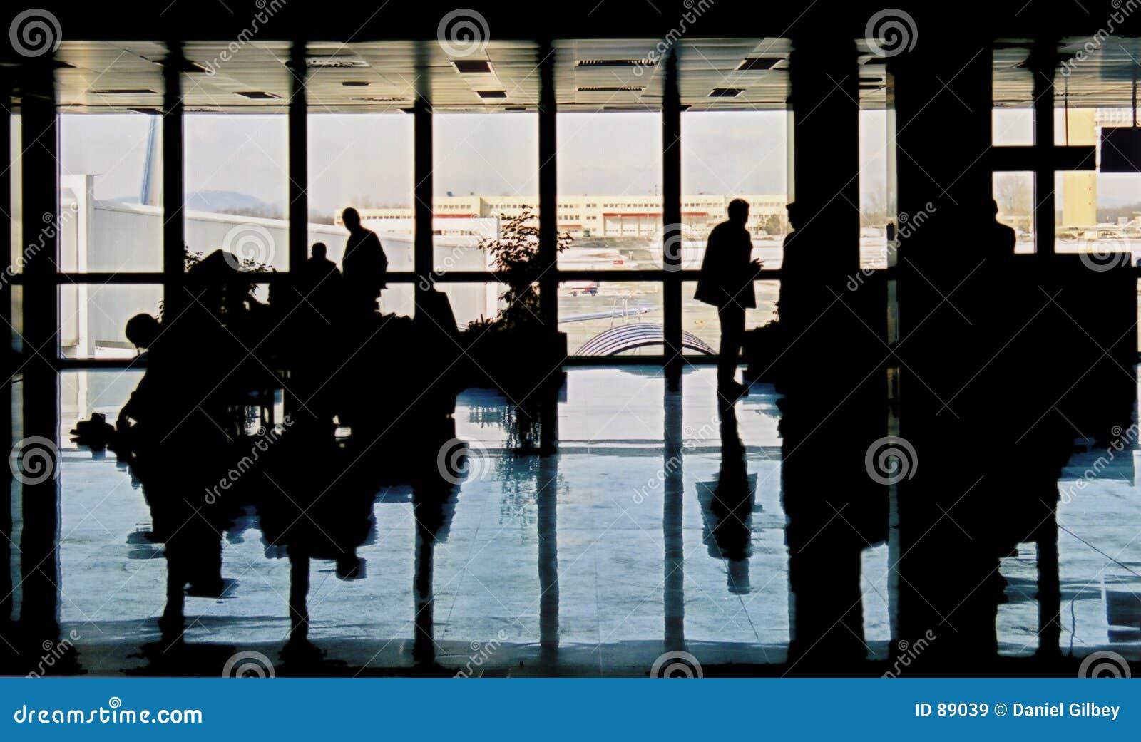 Aeroporto ocupado