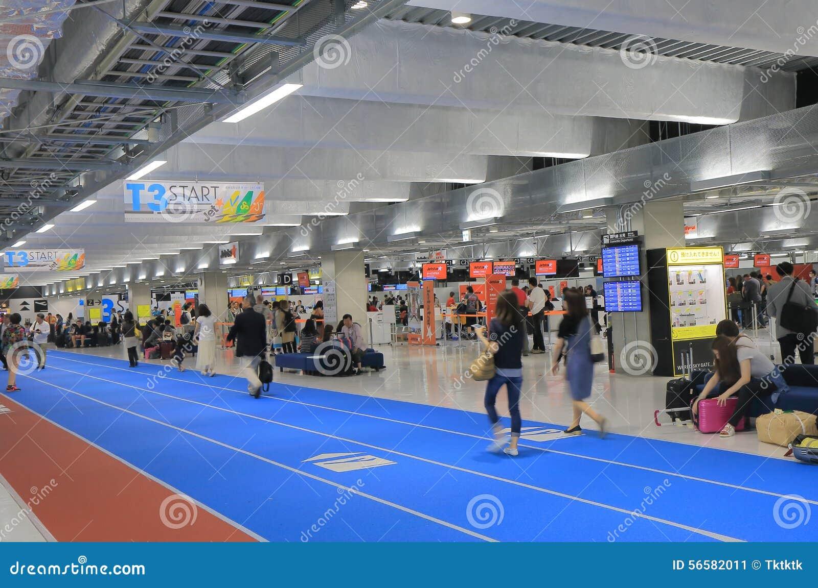 Aeroporto Tokyo : Aeroporto tokyo giappone di narita fotografia editoriale
