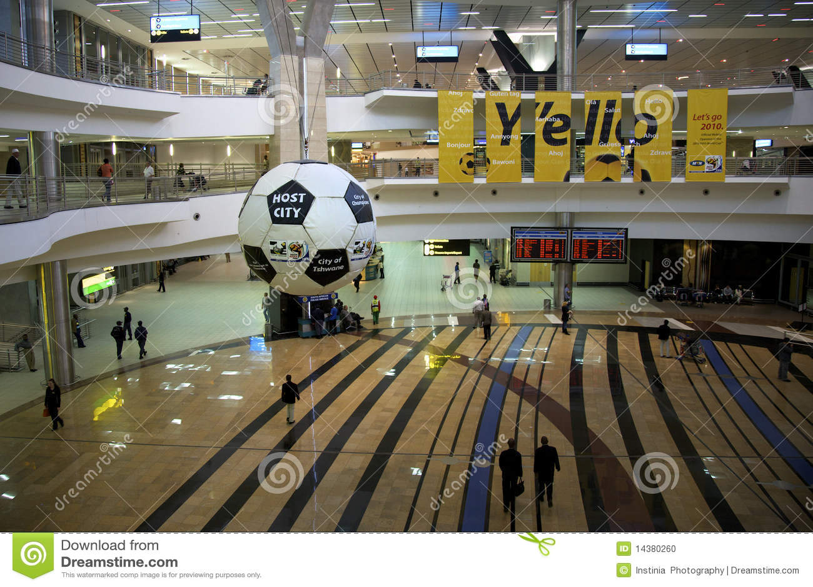 Aeropuerto de Johannesburg, 2101 balompié/mundo del fútbol