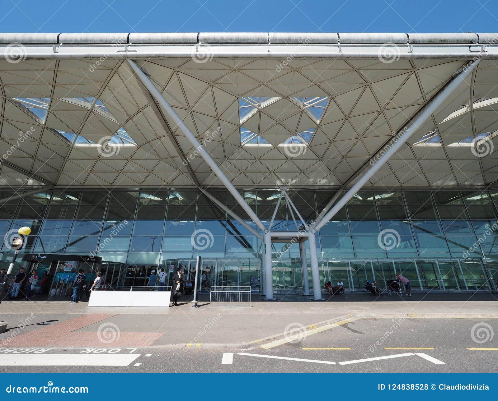 Aeropuerto de Standsted en Londres, Reino Unido
