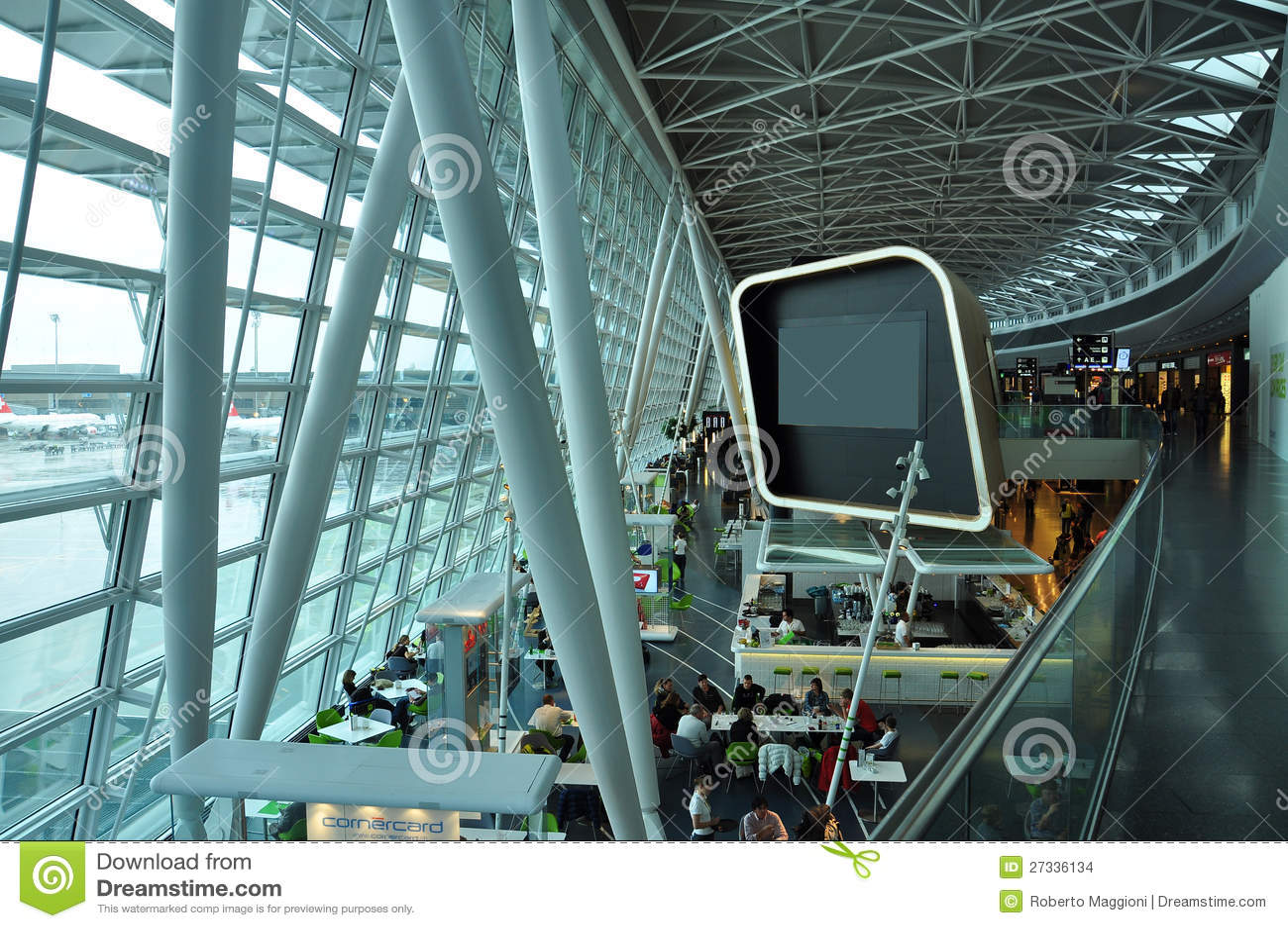 Aeropuerto de Zurich, Suiza