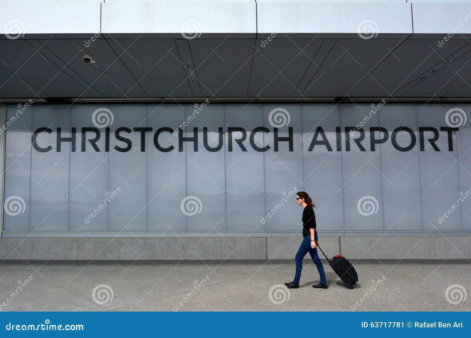 Aeropuerto internacional de Christchurch - Nueva Zelanda