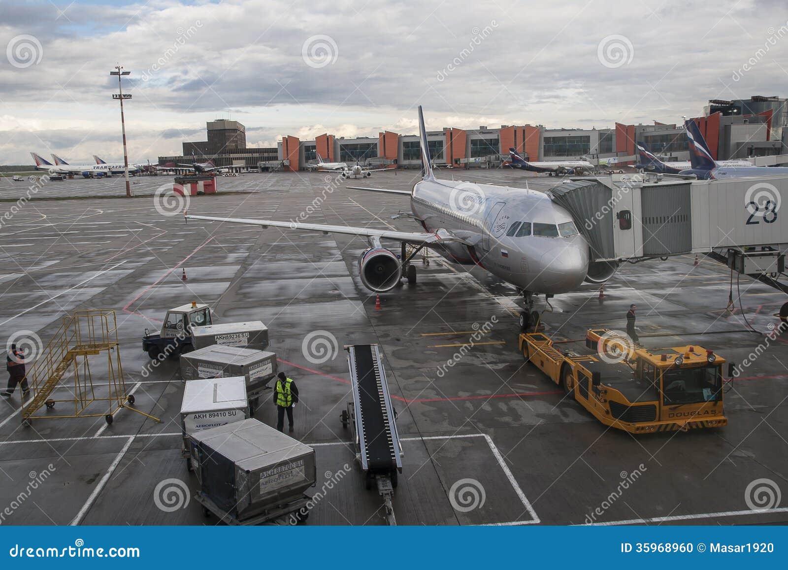 Aeropuerto internacional de Sheremetyevo