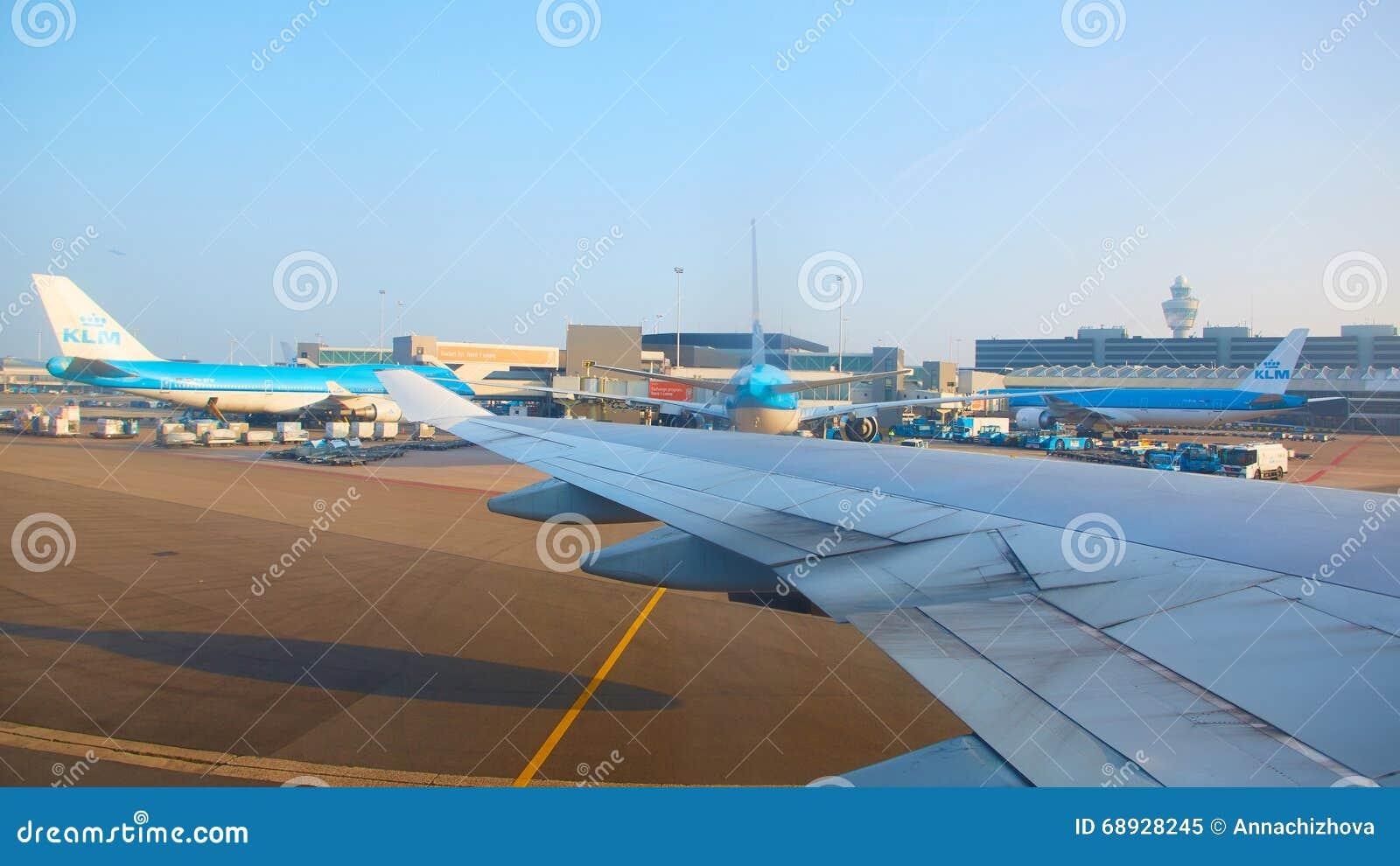 Aeropuerto Schiphol de Amsterdam en Países Bajos