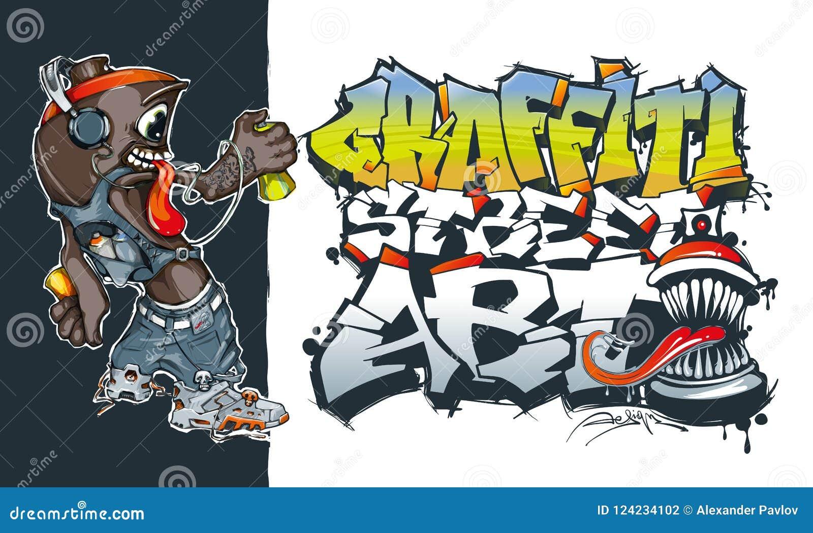 aerosol graffiti paint spray street art concept graffiti spray