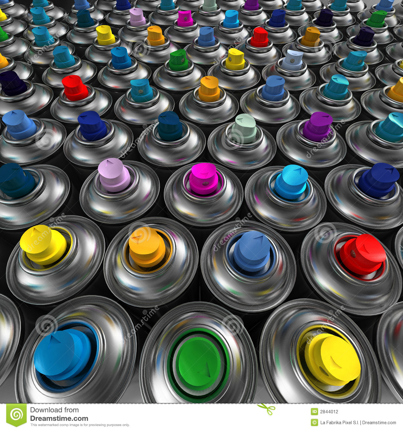 Aerosol spray cans stock photography image 2844012 for Happy color spray paint price