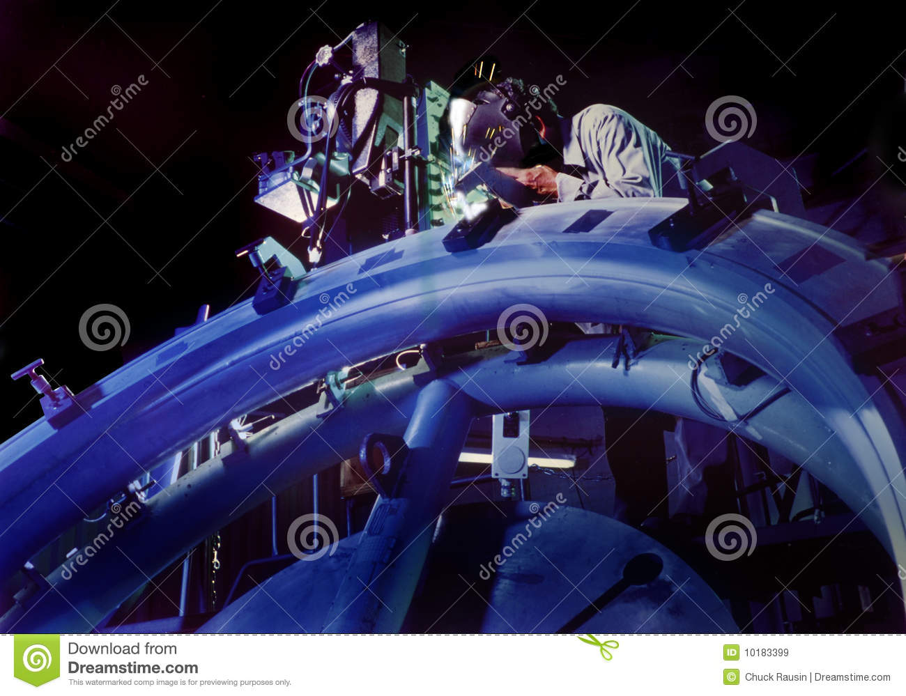 Aerospace Welder Royalty Free Stock Images - Image: 10183399
