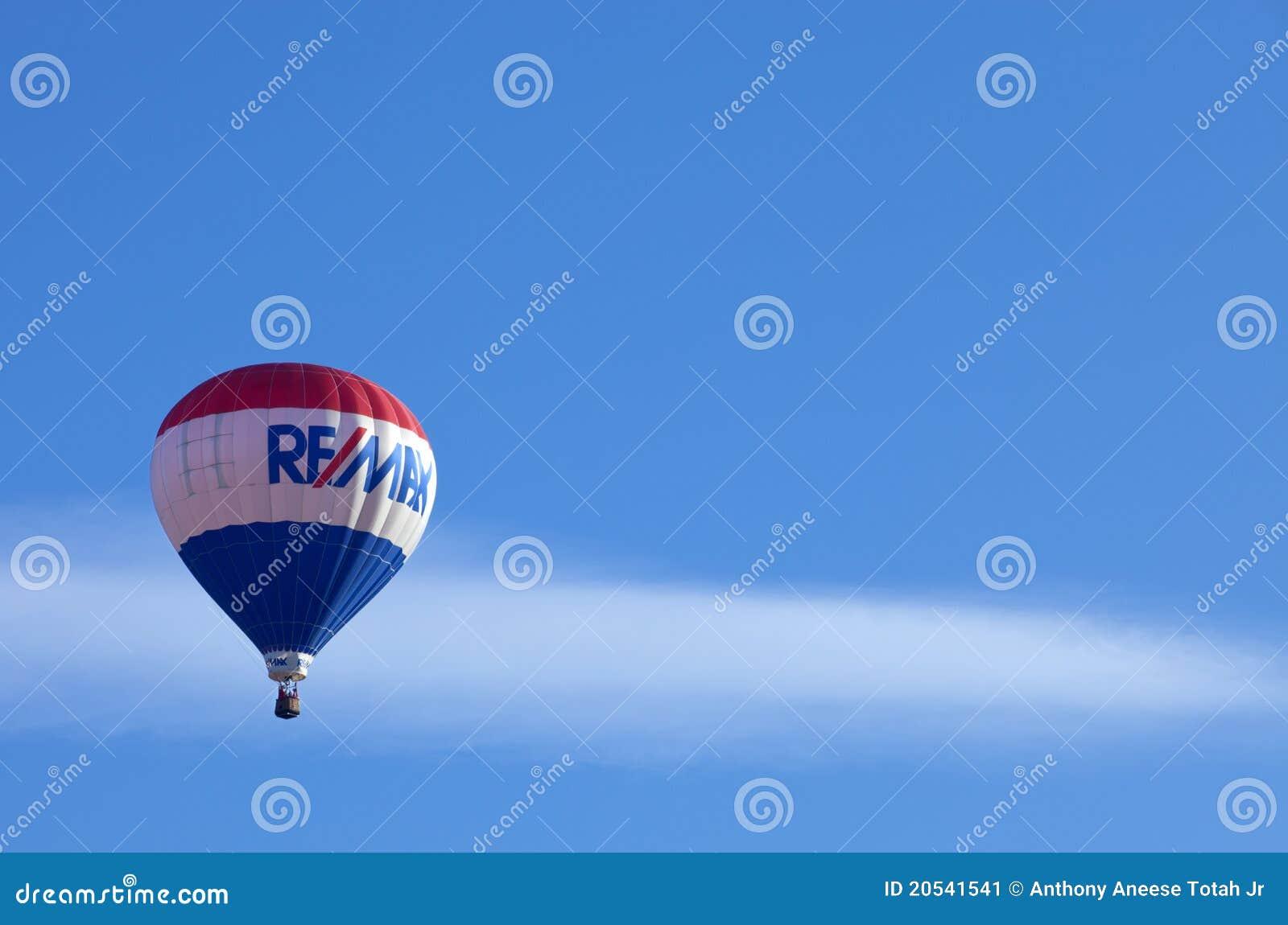 Aerostati di aria calda di ReMax