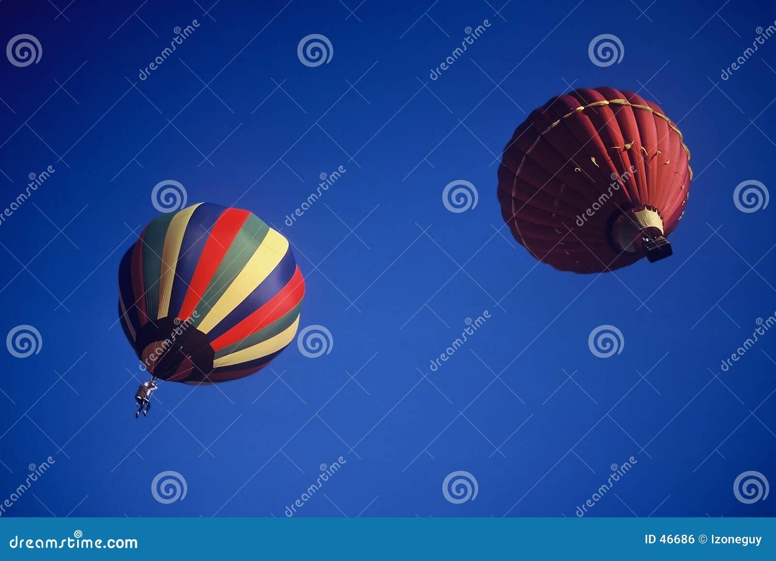 Aerostato di aria calda
