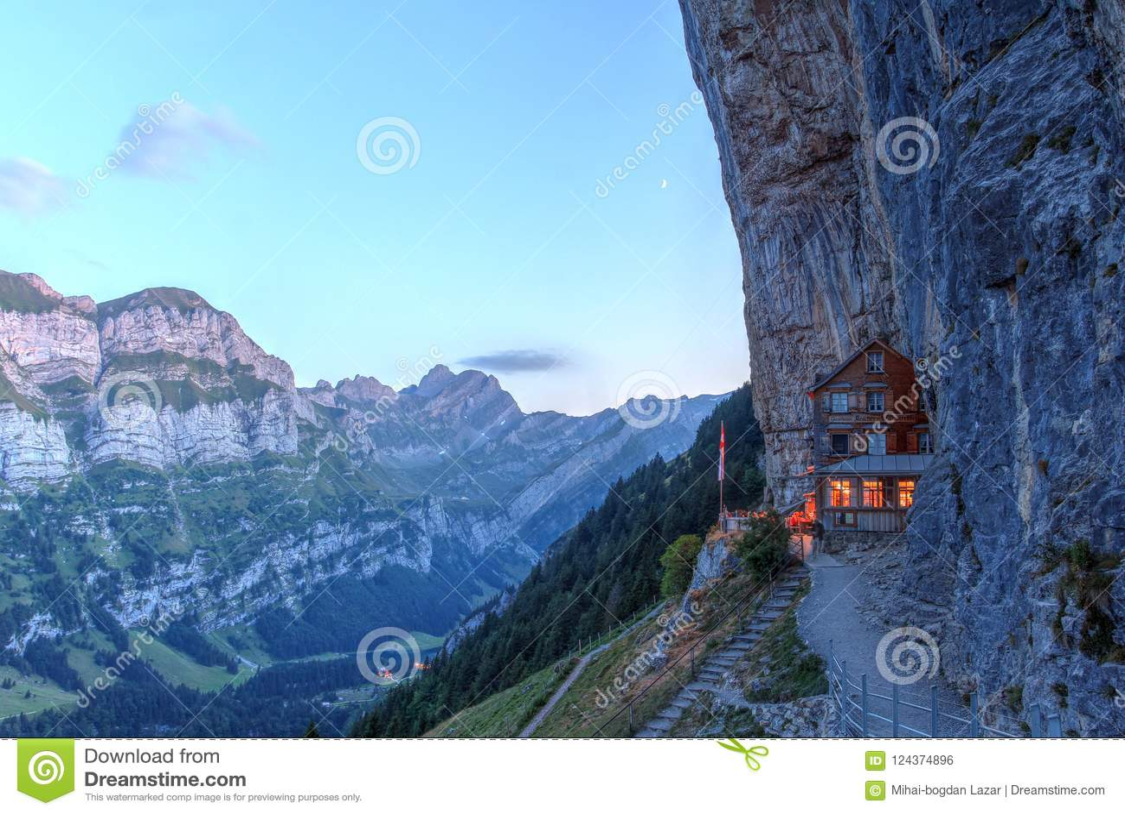 Aescher Cliff, Switzerland