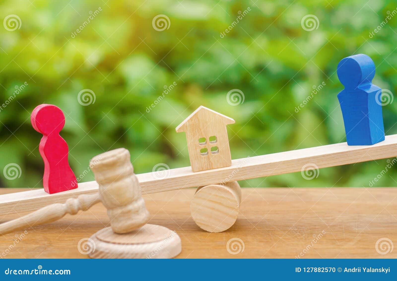 Afdeling van bezit met wettelijke middelen verduidelijking van eigendom