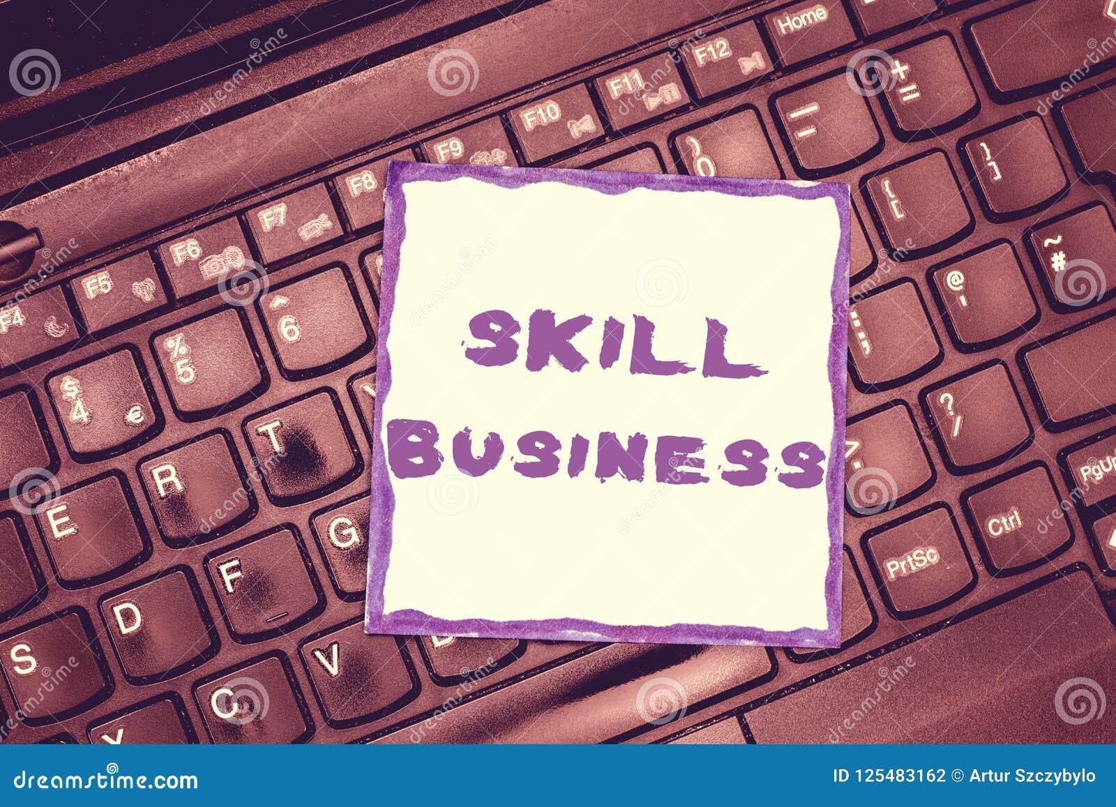 Affär för handskrifttextexpertis Menande kapacitet för begrepp att behandla sakkunskap för intellektuell för affärsföretag