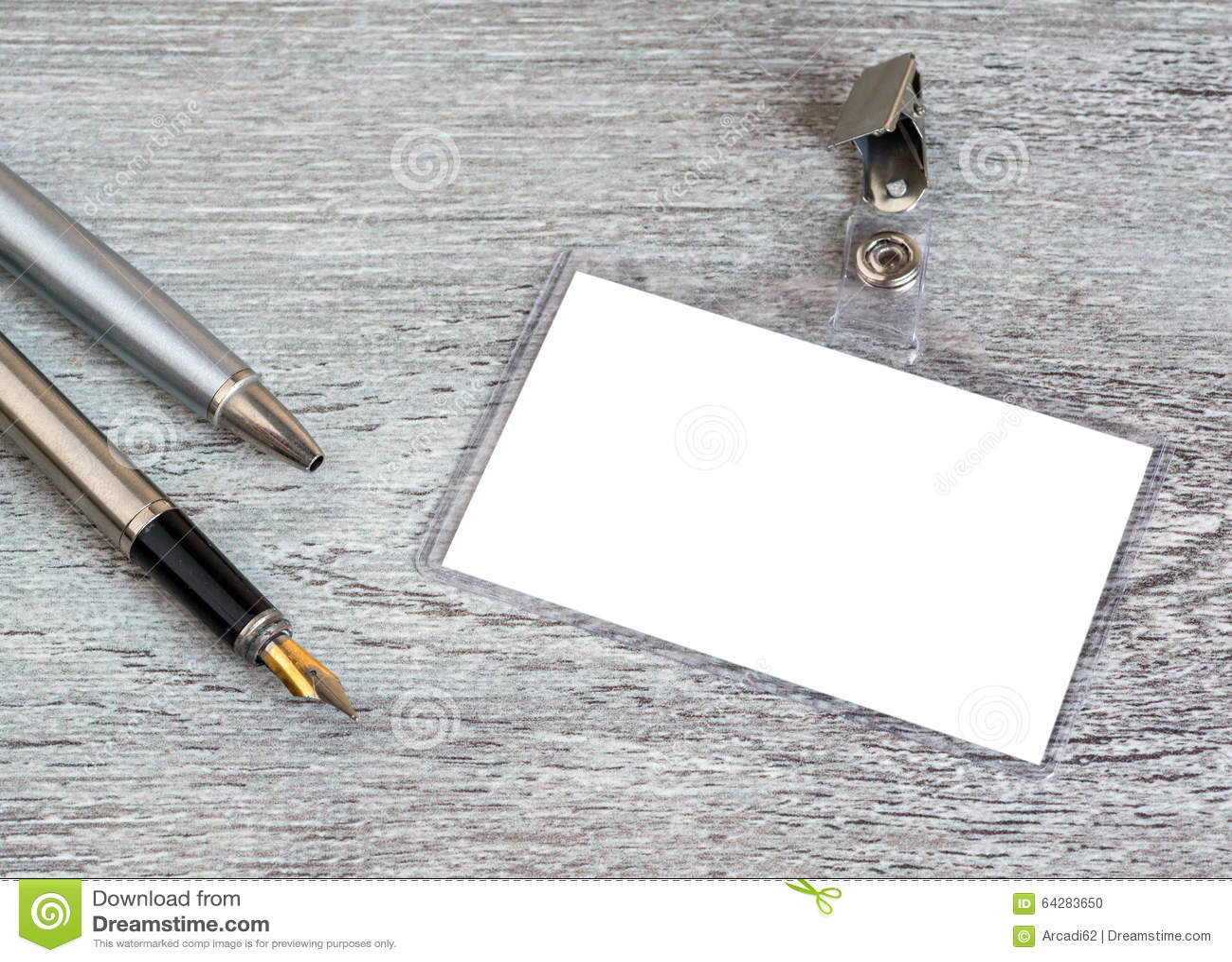 Affär penna, emblem