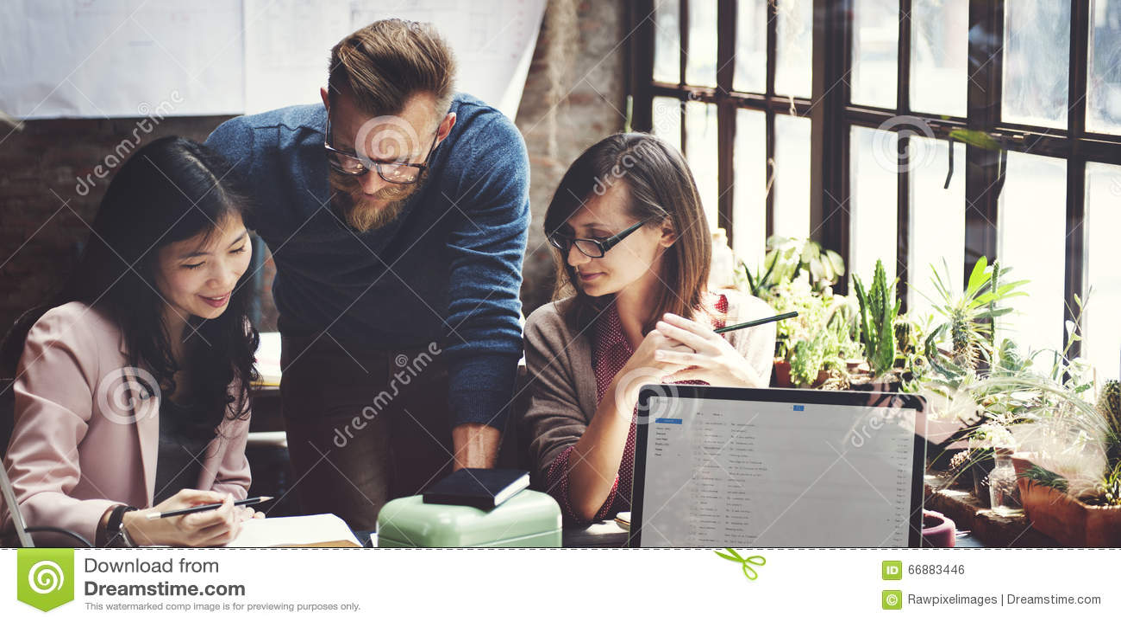 Affär Team Corporate Marketing Working Concept