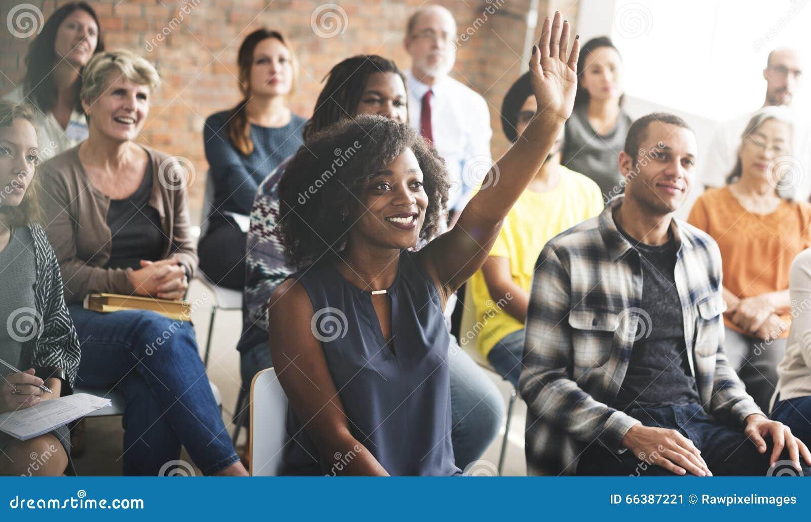 Affär Team Meeting Seminar Training Concept