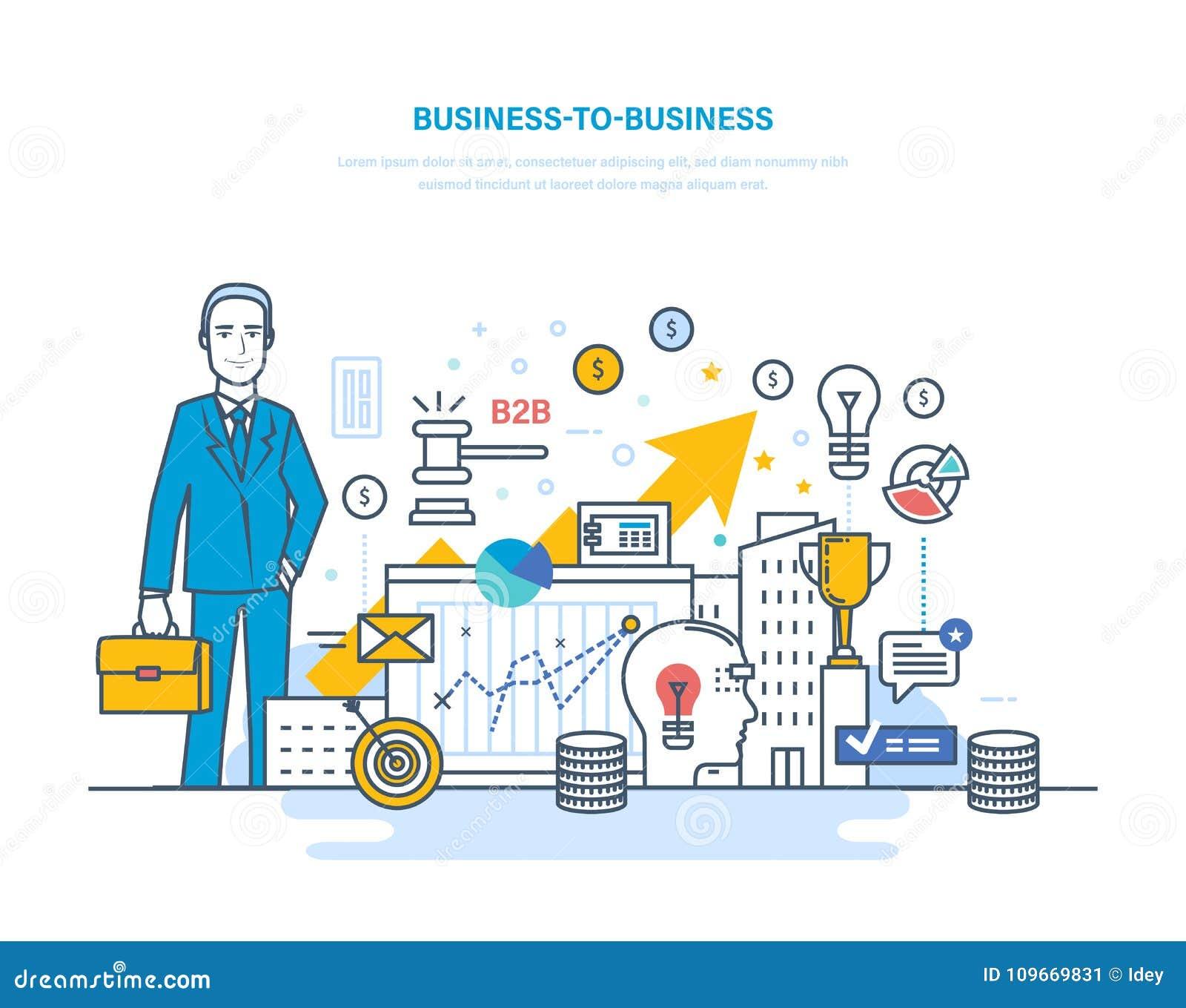 Affär till affären, e-kommers, elektronisk handel, kapitalmarknader, aktiemarknad