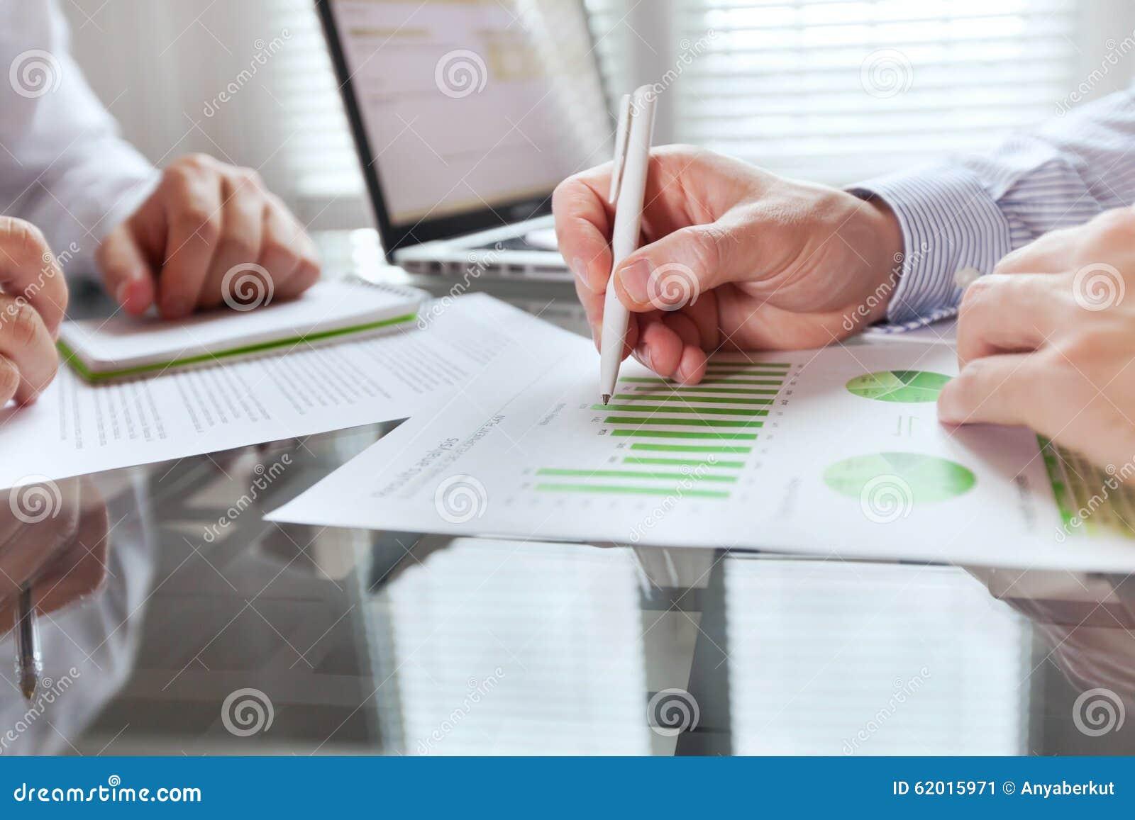 Affärsövervakningbegrepp, finansstrategi